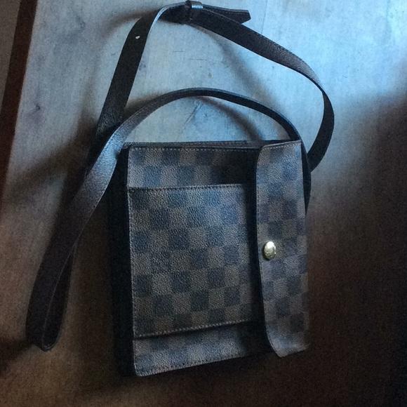 51ca319ca1a8 Louis Vuitton Handbags - L.V. Damier Ebene Leather Pimlico Cross Body Bag